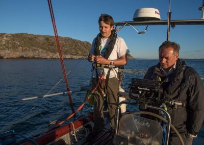 Last land at end Murmansk Channel 750nm to next waypoint