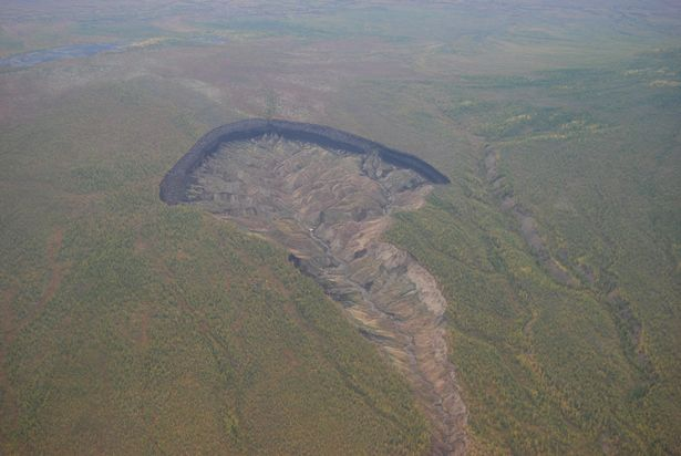 Massive crater in Siberia widens, revealing 'lost world' and climate change impacts