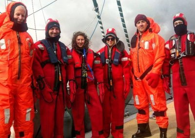 Crew get kitted out 19 May 17