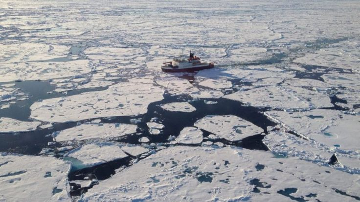 Record number of microplastics found in the Arctic