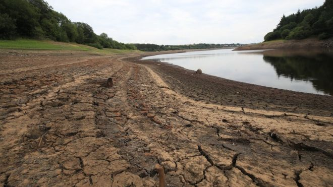 Climate change: Water shortages in England within 25 years.